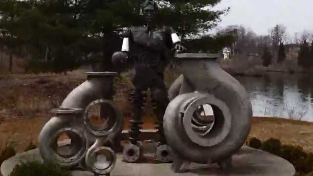 FLX TRAIL WALK-THROUGH: The Ludovico Sculpture Trail in Seneca Falls (video)