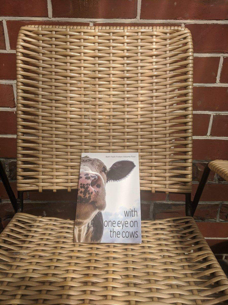 She arrived! Meitaki maata @BathFlashAward. Looking forward to some fabulous summer reading.