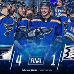 Image for the Tweet beginning: NINE CONSECUTIVE HOME WINS!!! #stlblues