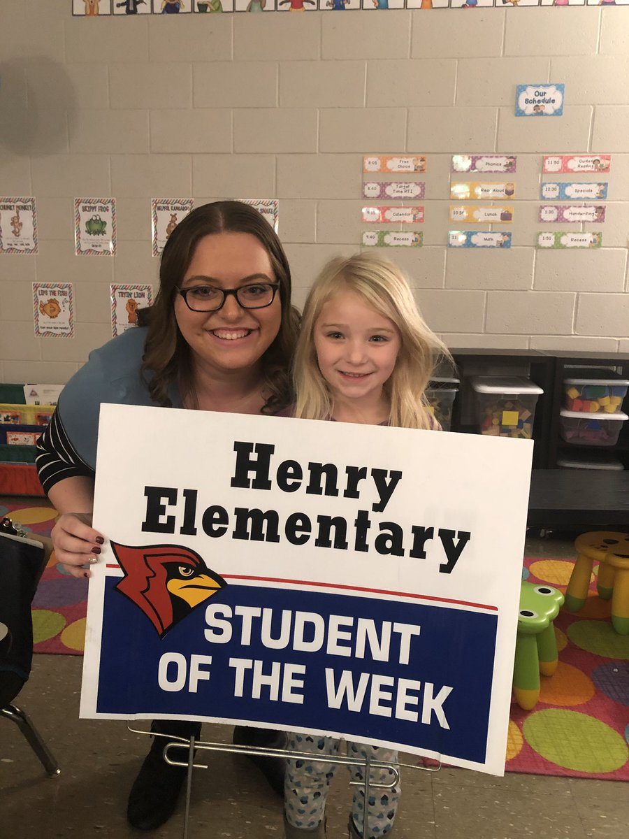 Check out these rock stars! Locklyn Phelps, Addison Kueker, and Haley Wallen are the students of the week! https://t.co/GYhF1GYzFv