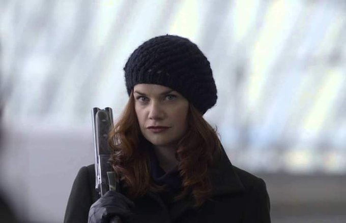 Happy birthday Ruth Wilson aka crazy Alice in Luther with Idris Elba.