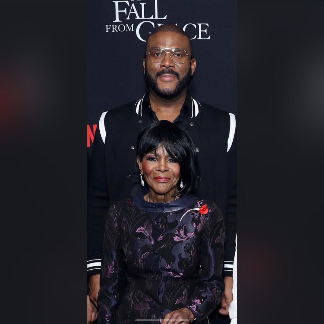 THIS WOMAN IS 45 years older than I am!! Damn I need to moisturize!! All jokes aside. This is Queen Cicely.  What a life, what a journey, what a soul!! We love you!! #AFallFromGrace @IAmCicelyTyson