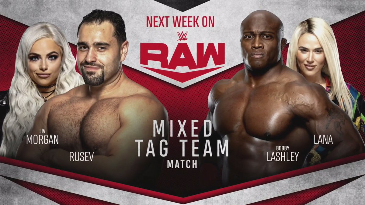 Big Ladder Title Match + Mixed Tag Team Match Announced For Next Week's RAW