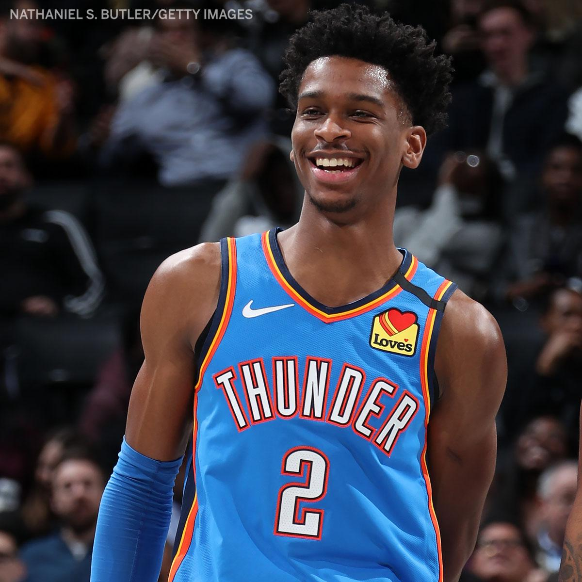 .@shaiglalex is now the youngest player in NBA history with a 20-rebound triple-double, passing @SHAQ 🔥  (via @EliasSports)