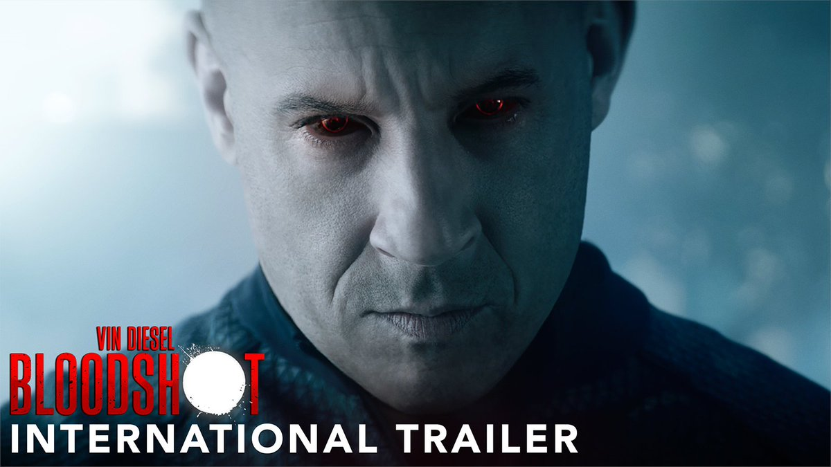 Superheroes just got an upgrade. 🔴 Watch the new #Bloodshot international trailer now and see the movie in theaters March 13.