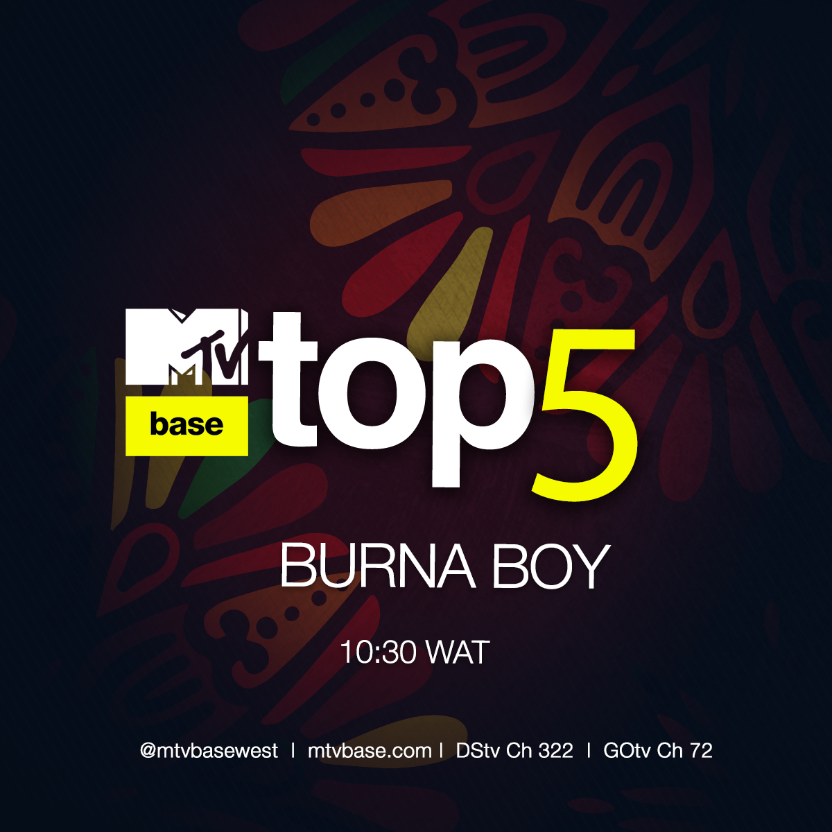 Here comes the AFRICAN GIANT 🦍🦍 We got a playlist on your fav @burnaboy today at 10:30 am WAT Where the real fans at? Come check us out on @DStvNg ch 322 and @GOtvNg Ch 72 🙌