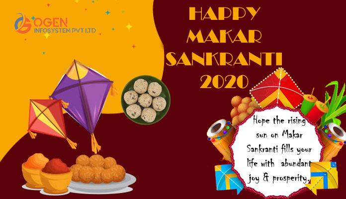 """Hope the rising sun on Makar Sankranti fills your life with abundant joy and prosperity."""" — Best Wishes of Makar Sankranti from Team OGEN #HappyMakarSakranti #MakarSakranti2020 https://t.co/gbQ6DXXQ19"""
