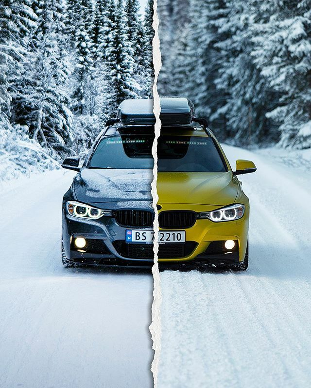 Grey or Yellow? Pick one!  ⠀⠀⠀⠀⠀⠀⠀⠀⠀ #camerawagon #camerawagon2 #bitteryellow #wrapped #transformationtuesday #TouringTuesday #bimmersofnorway #bmw #f31 #touring #packline #stjørdalauto #arcticfitment #theracecolony #frontend #wintermode #bm… https://ift.tt/2tfrHgZpic.twitter.com/BLurwfW3Ms