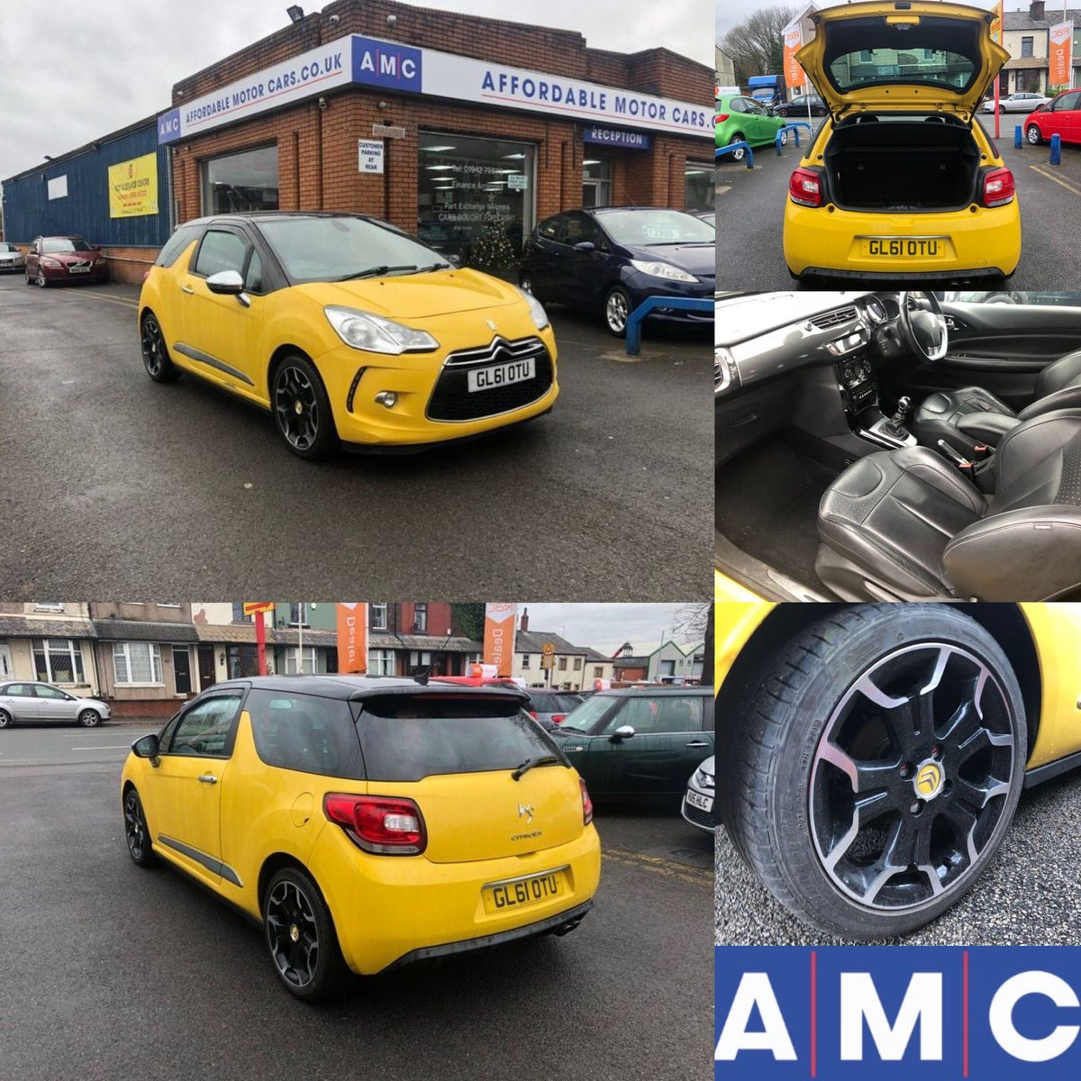 #CarOfTheWeek - Citroen DS3 1.6 THP DSport Plus 3dr Only £4,595!  Low mileage  Alloy Wheels  12 months MOT Drive away todayhttps://www.autotrader.co.uk/classified/advert/201912045024289?advert-type=dealer-stock&fromDealerProfile=true&dpp=10020391&advertising-location=at_cars…pic.twitter.com/HEdFAhQZpc