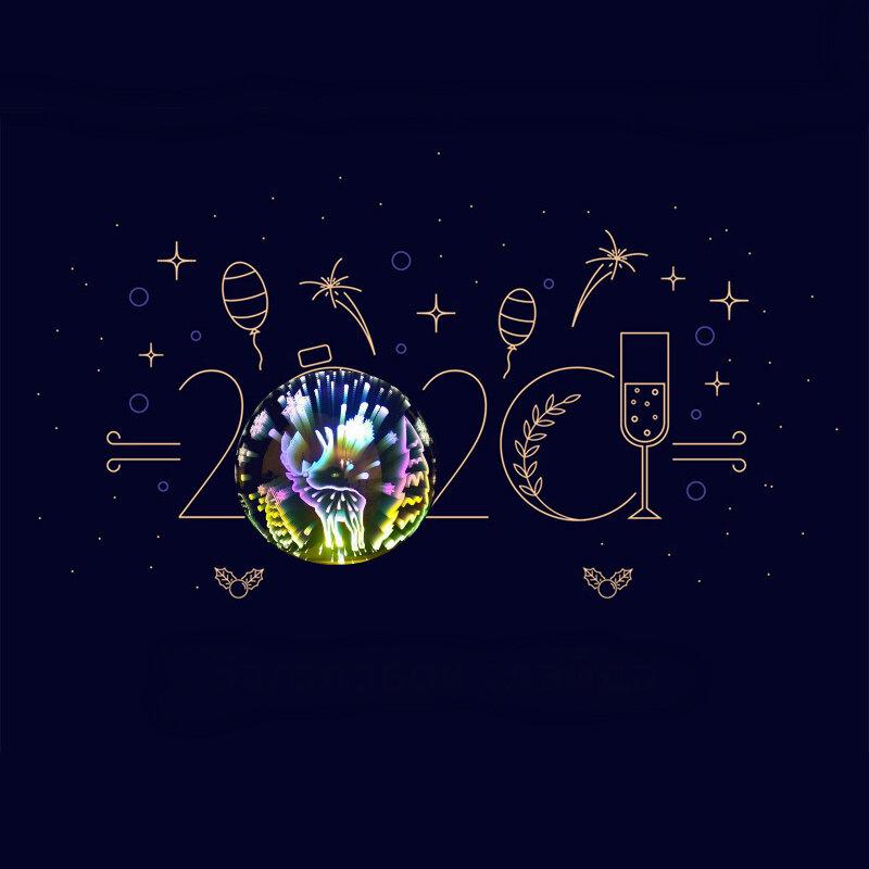 Сегодня Старый Новый год! Разверни счастье и любовь в 2020 году!  3D светильник-шар Новый год     #follow4like #razverni #amazing #магазинподарков #подарок #необычныйподарок #лучшийподарок #разверни