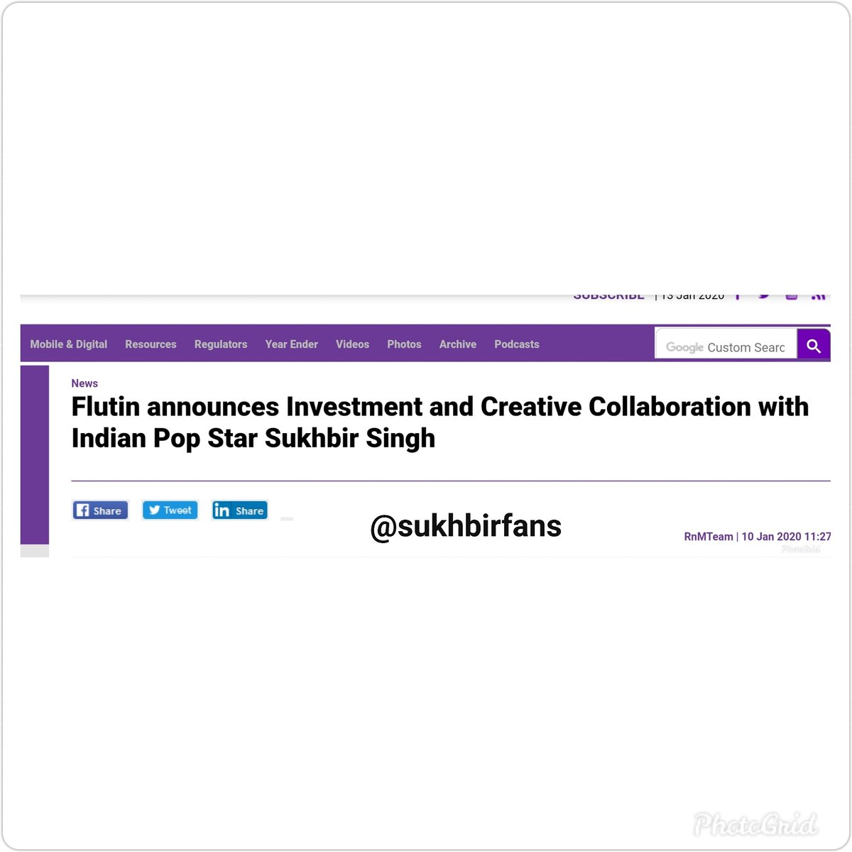 Another great news . . . #SukhbirSinger #sukhbir #sukhbir_singer #sukhbir_singh #sukhbirfans #Sukhbir #sukhbirsingh #ohhohoho #ishqteratadpaave #ishqteratadpave #SaudaKharaKhara #dillagana #galbangayi #trending #viral @FlutinApppic.twitter.com/7g03HFqs4G