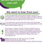Image for the Tweet beginning: Are you aged 13-30 years
