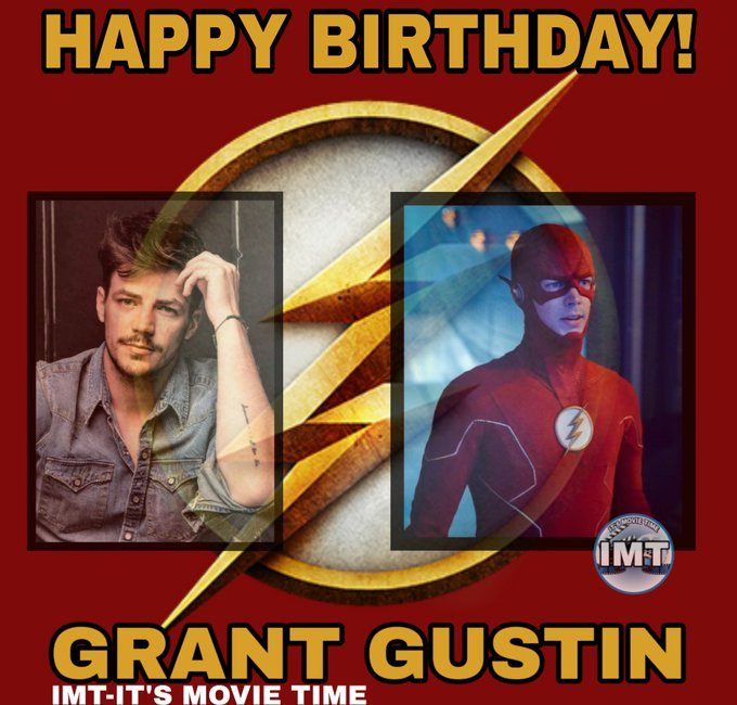 Happy Birthday to Grant Gustin! The actor is celebrating 30 years.