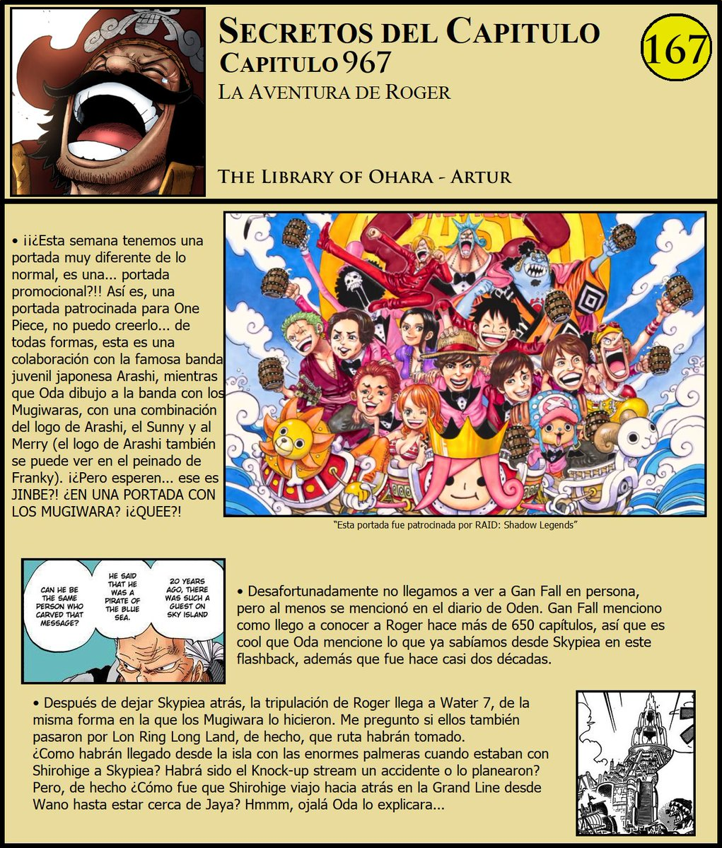 Secretos & Curiosidades - One Piece Manga 967 EOOY0gPXUAEPNVf
