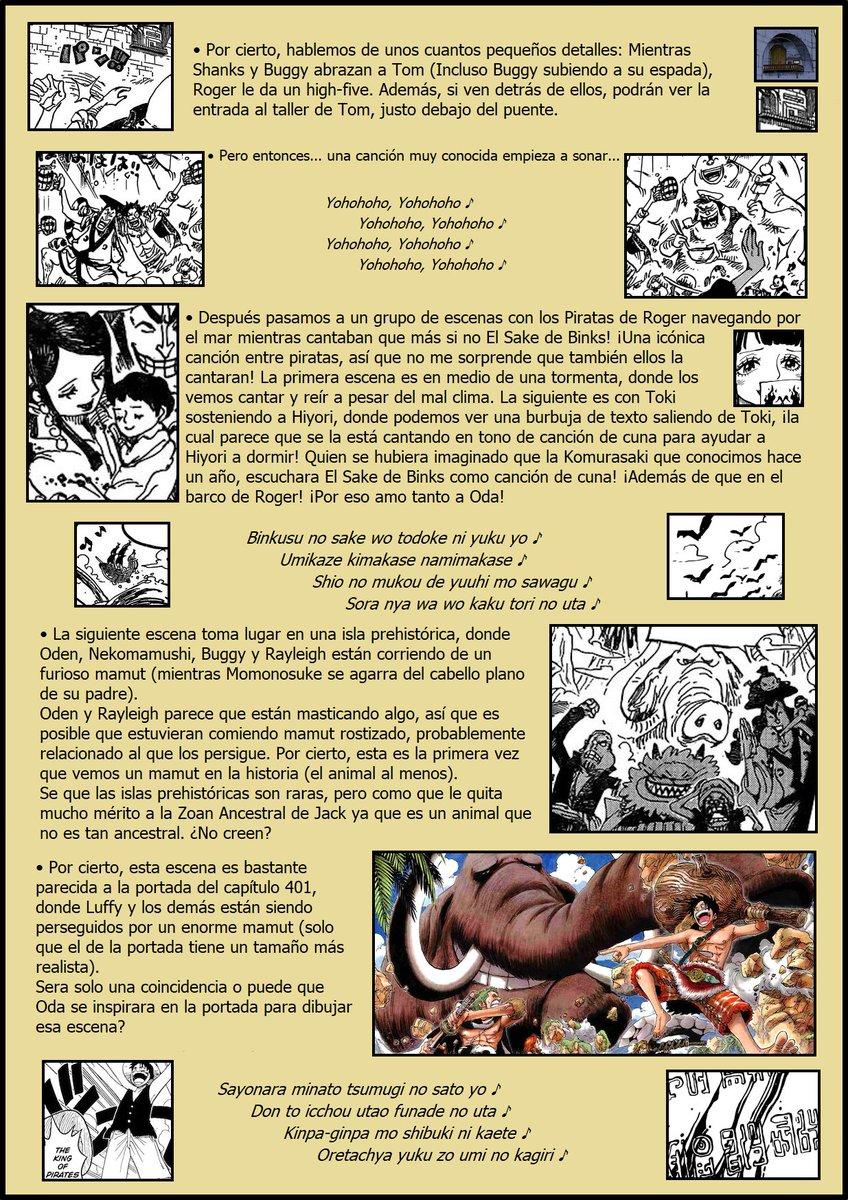 Secretos & Curiosidades - One Piece Manga 967 EOOY0gSX4AA_wrM