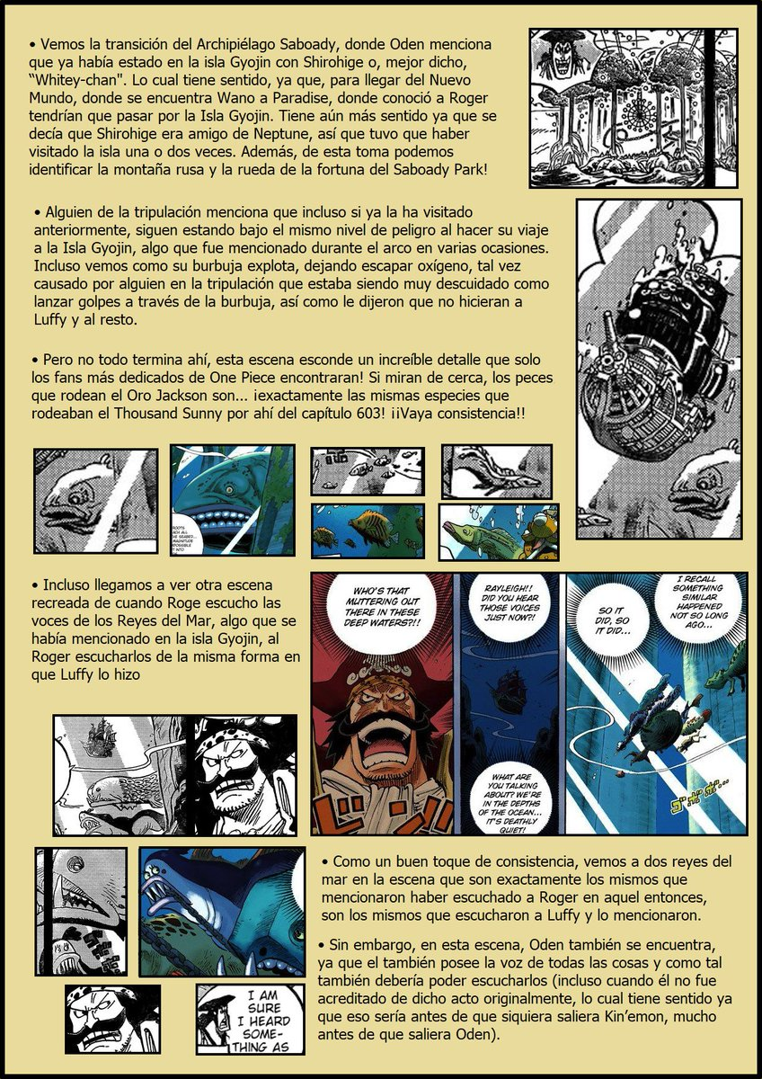 Secretos & Curiosidades - One Piece Manga 967 EOOZFr5W4AsMlwX