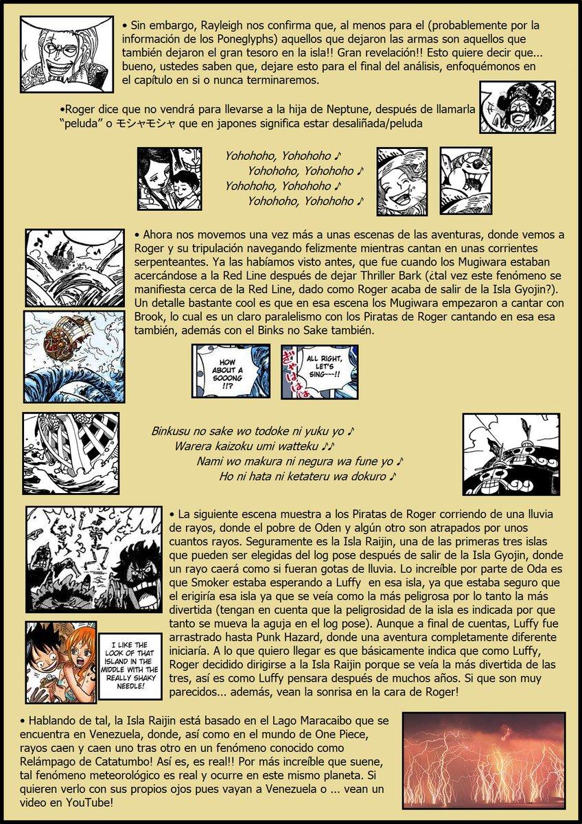 Secretos & Curiosidades - One Piece Manga 967 EOOZgZgXsAEdkgp