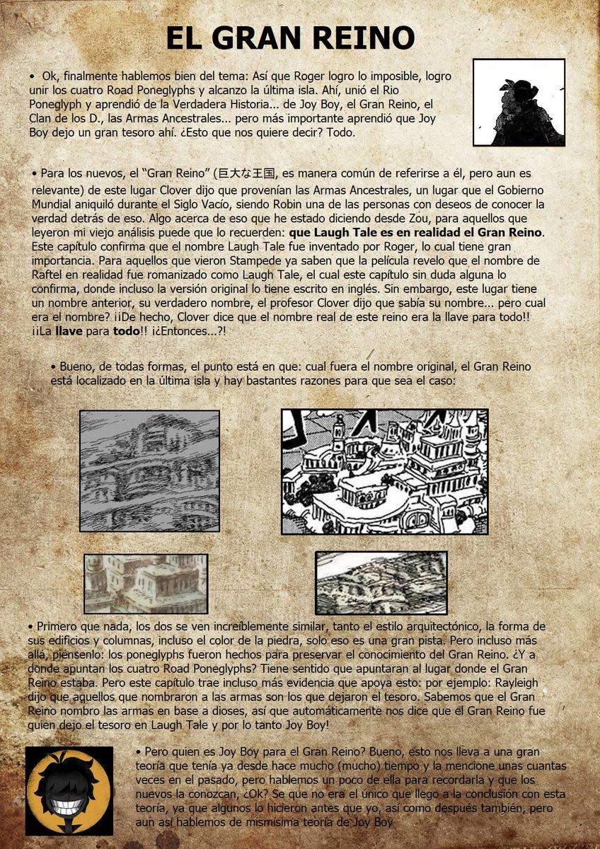 Secretos & Curiosidades - One Piece Manga 967 EOOZtldX4AAhSeo