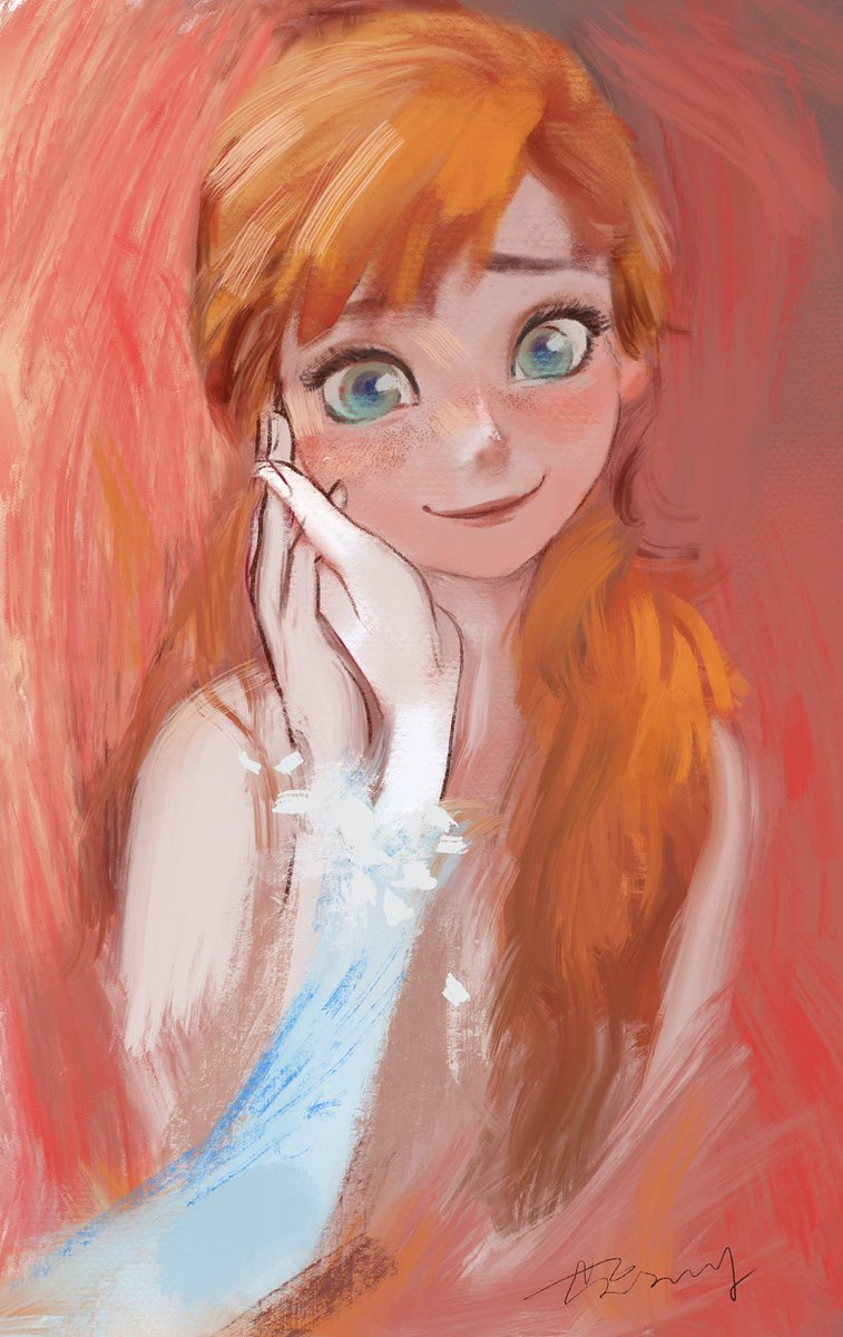 Anna of Arendelle! And this hand belongs to...?  #Frozen2   #elsanna<br>http://pic.twitter.com/7ZYCnJFG7e