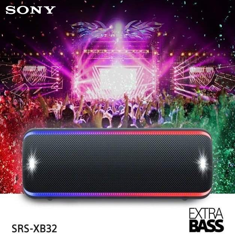 Don't miss out on the experience of being there. Hit the LIVE SOUND button on SRS-XB32 #SonySpeaker for instant festival vibes!Know more: http://bit.ly/2uh2Fyl