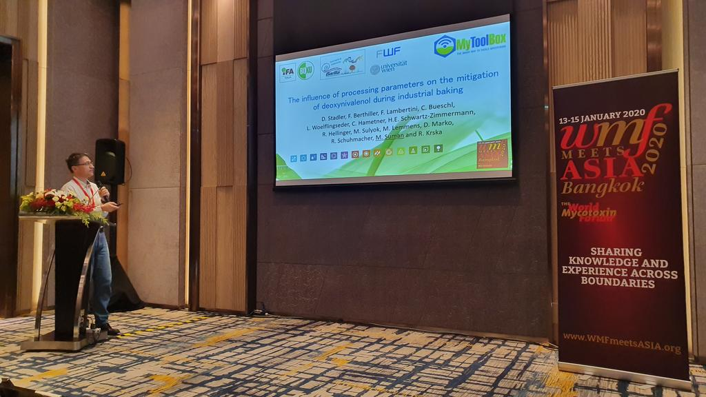 Happy to see our Processing Contaminants & Natural Toxins TF chair @michelesuman together with @RudolfKrska at @MycotoxinForum. #WMFmeetsAsia means collaboration to tackle the challenges for #Food processing. Great welcome of our guidance presented today https://t.co/Gf6bWqM7C3