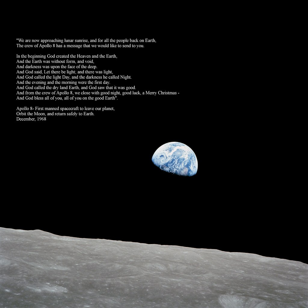 Lost In Wikipedia On Twitter The Crew Of Apollo 8 Read The Bible
