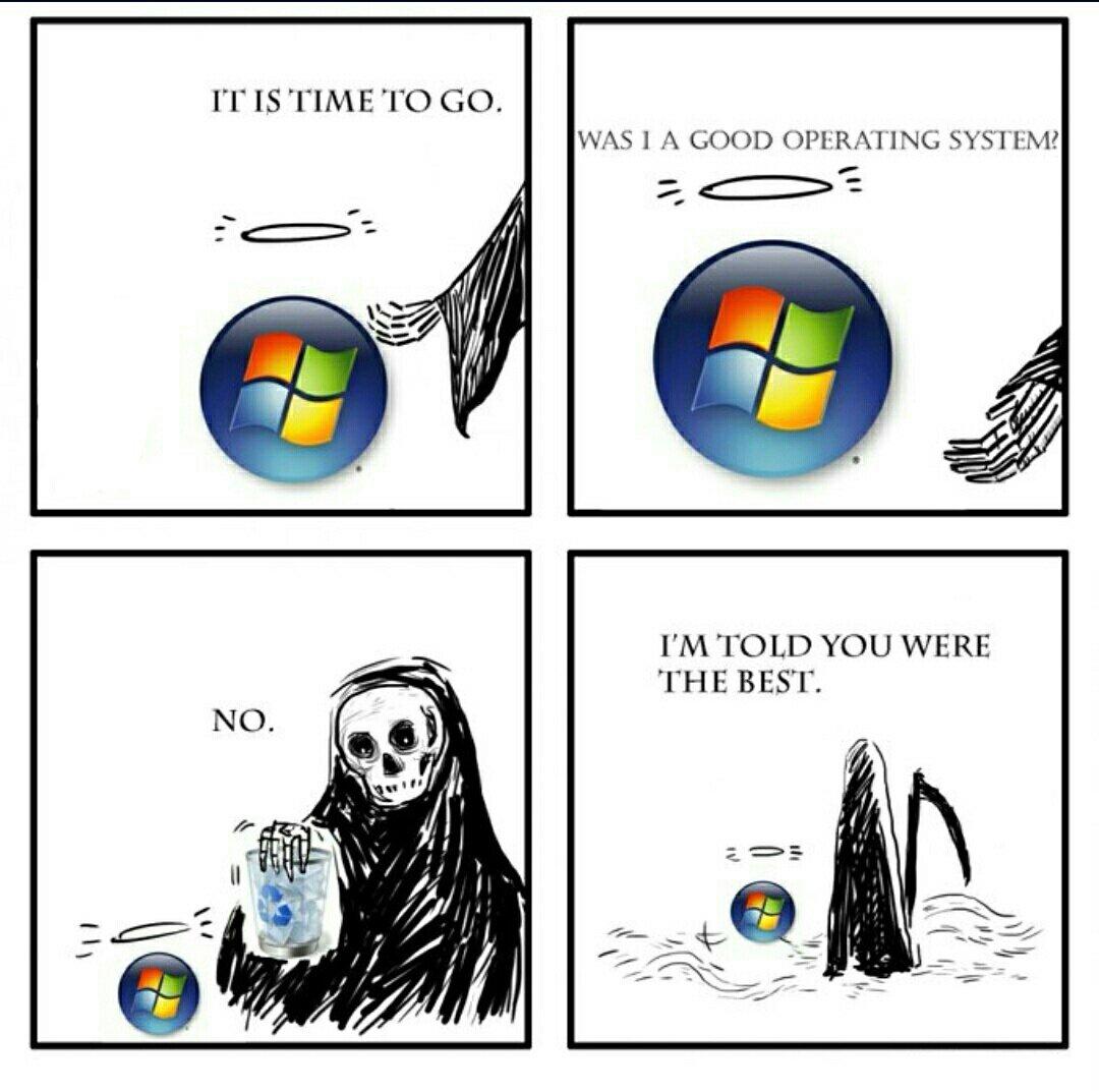 Goodbye ol fren  ;_; #Windows7 <br>http://pic.twitter.com/PIqBtftqgU