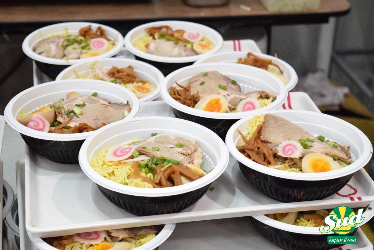 Hello la commu, c'est la fin de la semaine et vous savez quoi ? Le week-end se #Ramen ! Vous avez prévu quoi de votre côté ? #JES11 #JapanExpoSud #Food #JapaneseFood #Sorrymasen  Photo par : Frédéric Bretpic.twitter.com/VVBQwq0dv5