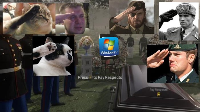 Goodbye my friend! You will always be remembered as the best windows ever! #windows7 <br>http://pic.twitter.com/M0WYHGgJ4E