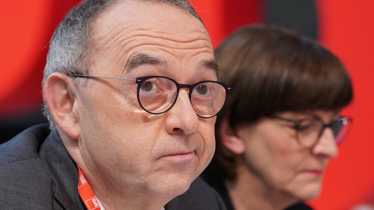 So sieht's aus, wenn man über die neue SPD-Spitze etwas Nettes schreiben will.