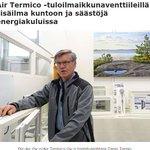 Image for the Tweet beginning: Air Termico -tuloilmaikkunaventtiileillä sisäilma kuntoon