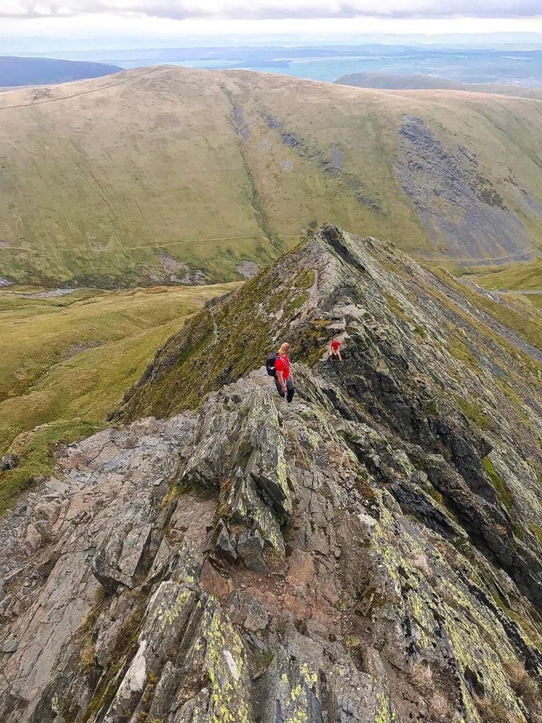 Sharp edge is one of the UKs most exposed ridges. Is this on your to do list? #guidebase #mountainguide #YOLO #navskills #hiking #mountaineer #thegreatoutdoors #getoutstayout #microadventures #getoutside #mountainscape #liveoutside #mountainsarecalling #Epicadventure