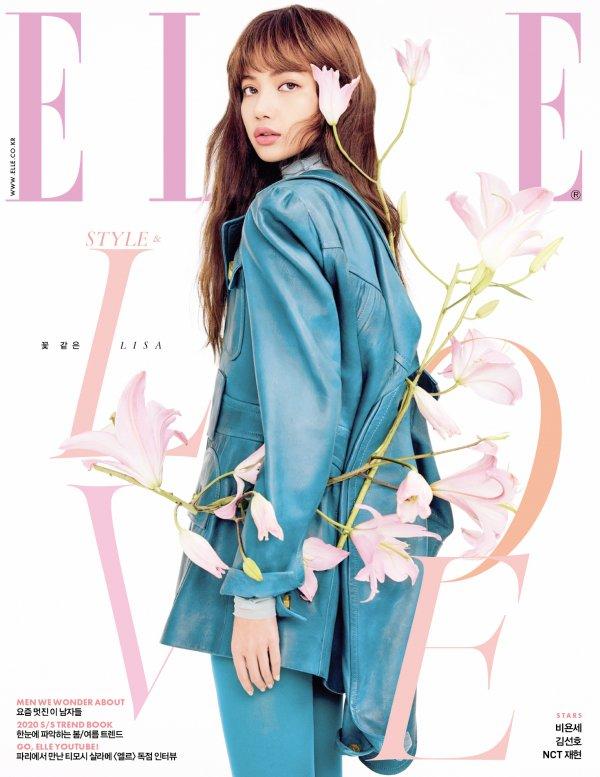 Photoshoot Blackpink Lisa For Elle Korea Hallyu