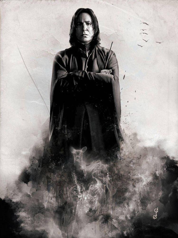 @HogwartsTurk's photo on #AlanRickman