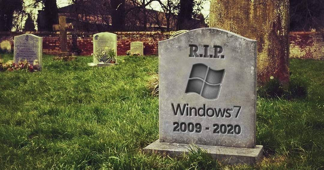 Sad day today , the last pull request for security patches will be made, this has been a firm favourite for many business and engineers for years, will say goodbye to the world. From an engineer's world, this is the last properly flexible and robust os. #Windows7 #Windows10<br>http://pic.twitter.com/vEga6mG1MZ