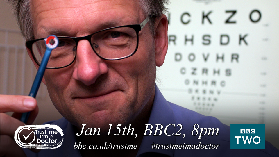 Trust Me I'm A Doctor with @DrMichaelMosley is back tonight at 8pm on @BBCTwo #TrustMeImADoctor