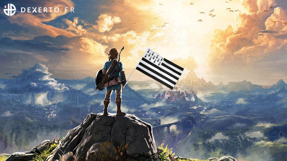 The Legend of Zelda : Breizh of the Wild  #MetsDeLaBretagneDansUnTitre <br>http://pic.twitter.com/k2IfoZcqG4