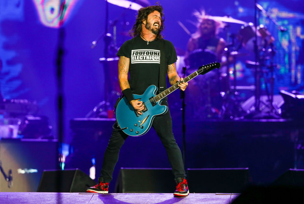 Happy 51st birthday to the very talented and well loved, David Grohl! : Alexandre Schneider/Getty Images