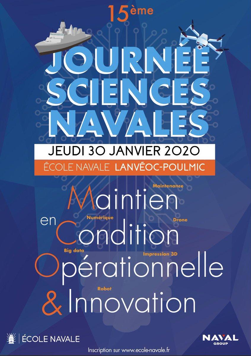 Lors de cette journée, @Technicatome animera une conférence sur la perspective pour l'intervenant du futur. @Ecole_navale #JSN