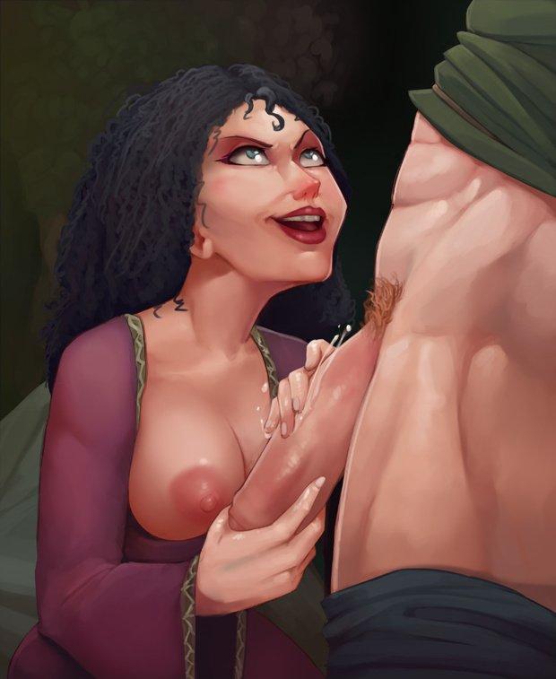 Xxx Nsfw Porn Art Of Disney's Sexy Hentai Milf Mother Gothel