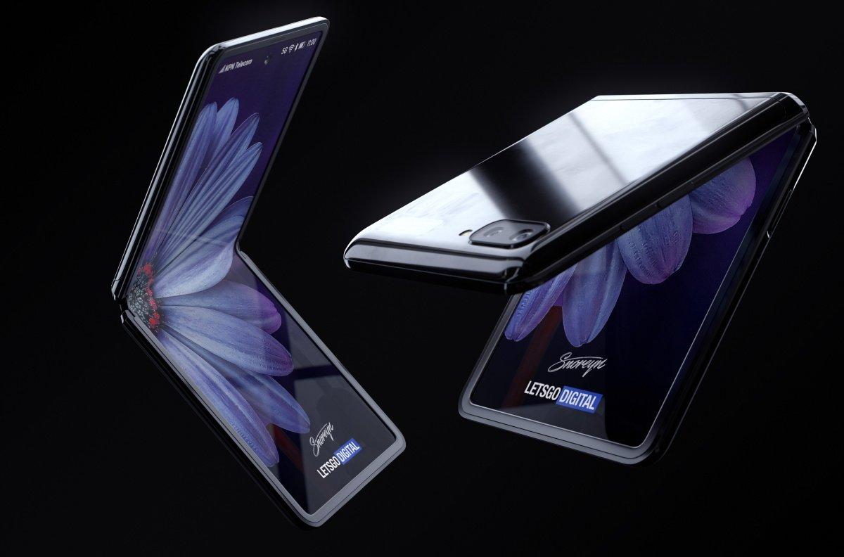 Galaxy Z Flip. First foldable phone with glass screen #galaxy #Samsung #GalaxyFold #unpacked2020 pic.twitter.com/jl4b36FOxh