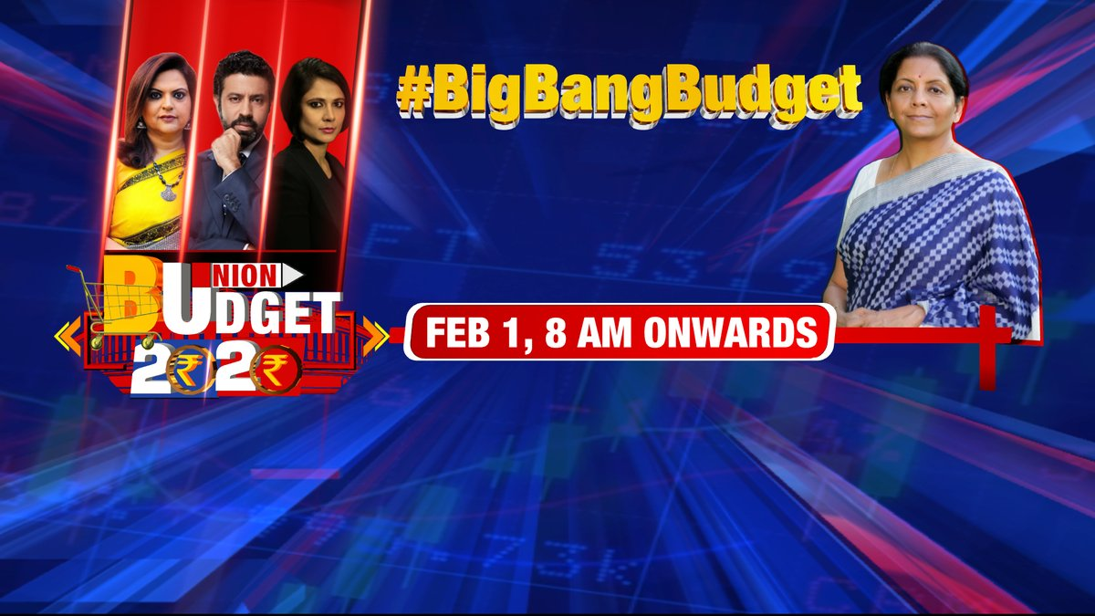 Big Bang Budget reforms needed for recovery. PM @narendramodi has the mandate but will Finance Minister @nsitharaman deliver the same in Budget 2020??Tune in to TIMES NOW for all Budget 2020 updates on February 1, 8 AM onward. | Tweet with #BigBangBudget