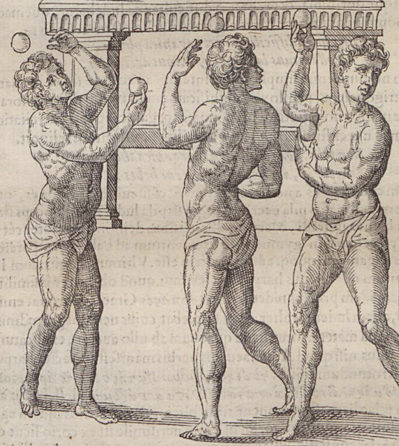 Yes, reading counts as exercise. (How to Exercise, 1560) askthepast.net/how-to-exercis…