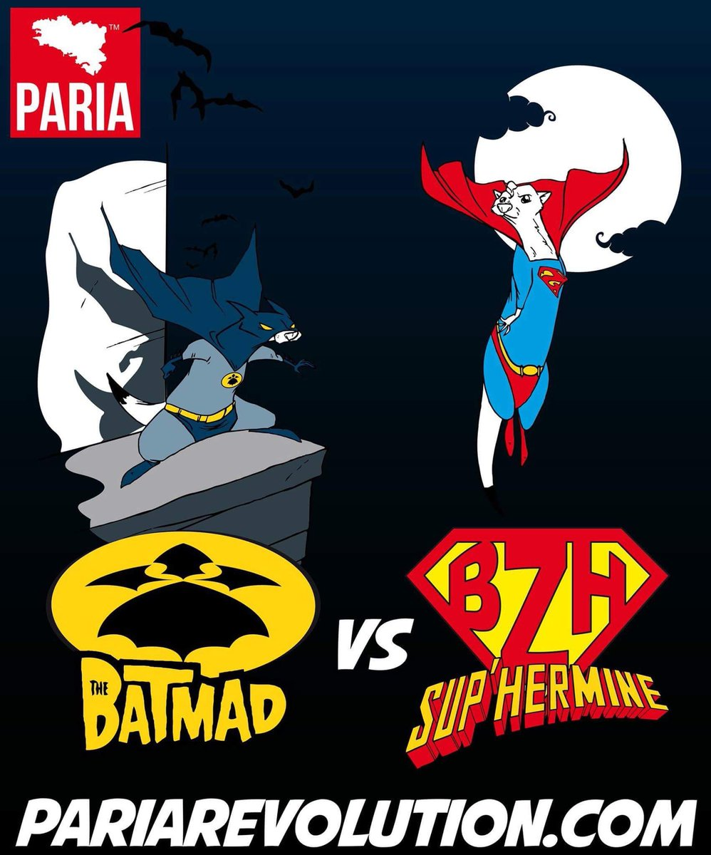 «Batmad vs. Sup'hermine» #metsdelabretagnedansuntitre #emojibzh<br>http://pic.twitter.com/Qx8hKTHDOq