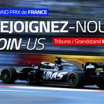 Don't miss your chance! Join me at the #FrenchGP @GPFranceF1  👉 https://t.co/9T094X8uuA
