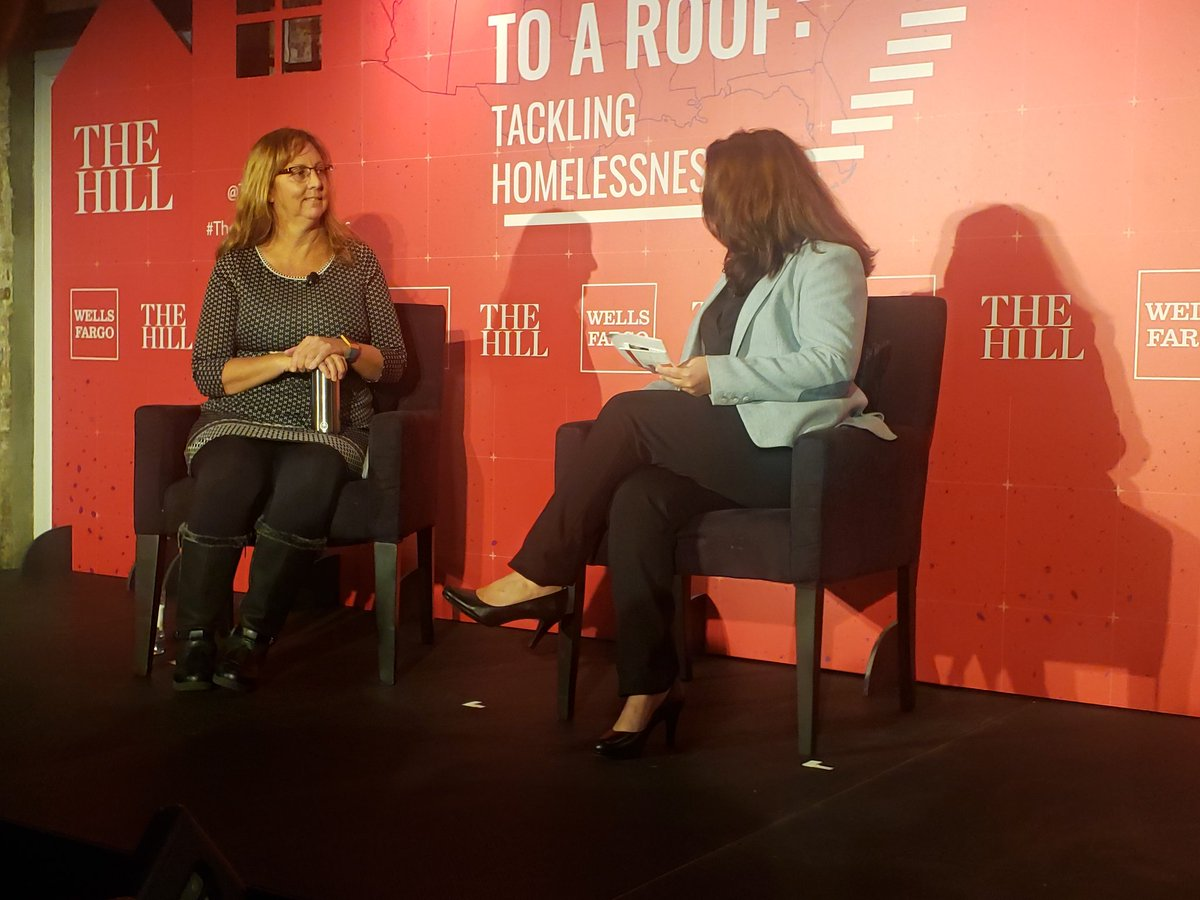 @SOME_DC 's Chief Housing Development Executive Director, Julia Moran Morton, sits down with @WellsFargo at the #TheHillHomelessness to discuss how SOME is addressing poverty and homelessness in the District. <br>http://pic.twitter.com/8VUxafMFKm – à Long View Gallery