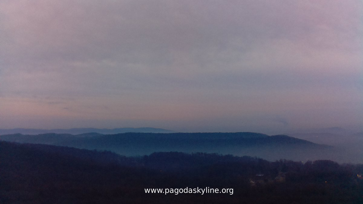 Sunrise Tuesday 14th of January 2020 07:30:02 AM #sunrise #PagodaSkyline #BerksCounty