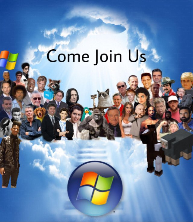 Rest In Peace Windows 7. You will be missed :(  #Windows7 <br>http://pic.twitter.com/MQB4FVnlDG