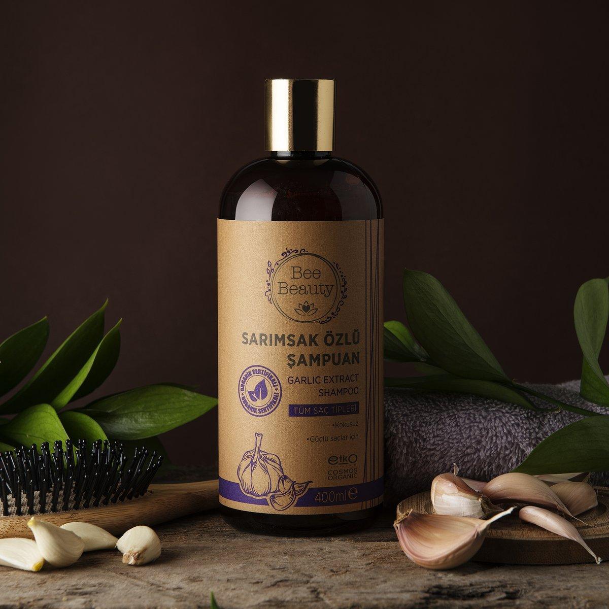 Daha güçlü ve daha çabuk uzayan saçlara kavuşmanıza yardımcı olan, Paraben ve GDO içermeyen Bee Beauty Sarımsak Özlü Organik Şampuan 25 TL'ye mağazalarımızda ve http://gratis.com'da sizleri bekliyor💜