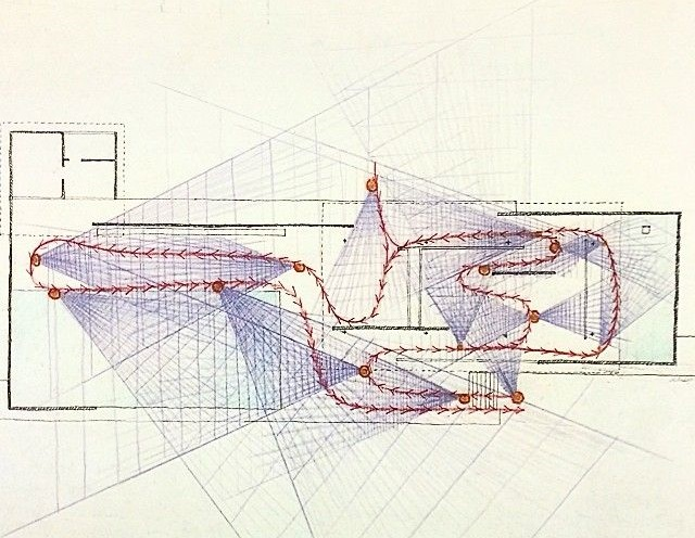Singlehandedly Book On Twitter Sight Plan Paul Rudolph Barcelona Pavilion 1986 Architecture Drawing Drafting Rendering Plan Parti Analysis Coloredpencil Sightlines Mies Internationalstyle Inspiration Singlehandedly Paulrudolphorg